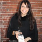Charlotte Canzano of Oysterville Vodka.