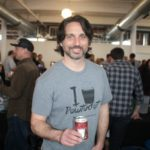 Nate Broomfield of Bucket Brewery.