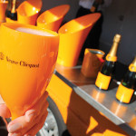 A sample of Veuve Clicquot.