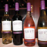 Gifft Wines Pinot Grigio, Red Blend, Pinot Noir, Rosé and Chardonnay.