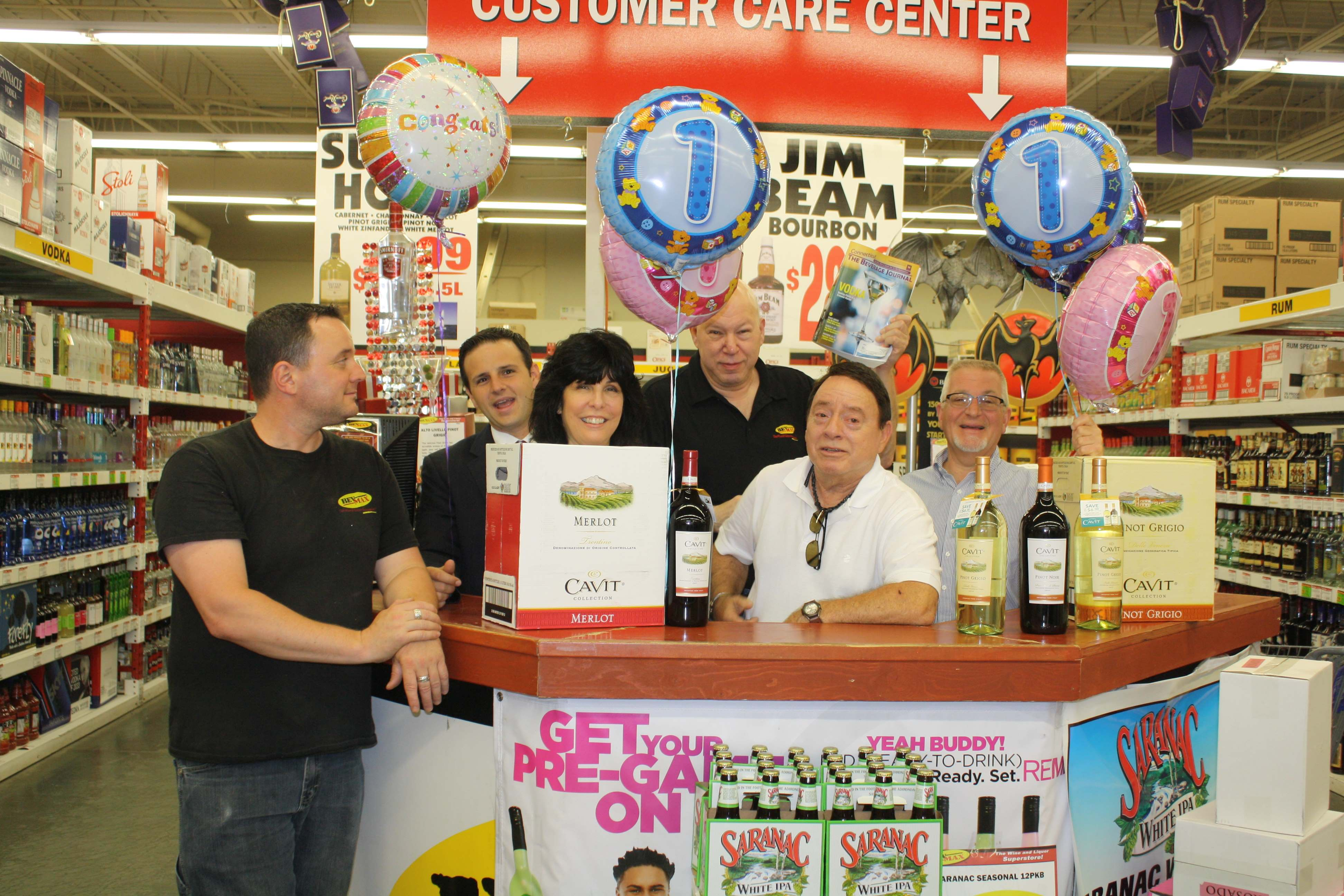 Hamden Store Places One Millionth Electronic Order Processed via The Cellar