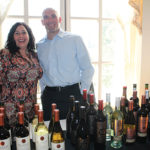 Claudine Lopes, Viva Vino Marketing and Jeff Gomes, Division Manager, The Wine Group.