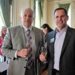 Tom Afonso, General Manager, Patriot Division, Horizon Beverage Company and Bob Swartz, President, Horizon Beverage Company of Rhode Island.