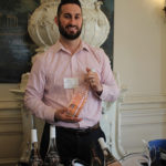 Matt McCarthy, Area Manager, Sovereign Brands in the rosé room.