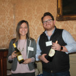 Kristen Cubicciotti, Market Manager, Brown-Forman and Michael D. Smith, Director of Sales, Axios Wine.