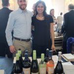 Zack Gallagher and Mariana Burke of Gooseneck Vineyards.
