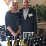Arleen Carpenter, Tasting Consultant and Michael Andrews, Regional Manager, Wente Family Estates.