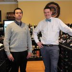 Marc Berry, Wine Sales Manager and Justin Garrison, Craft Spirits Manager.