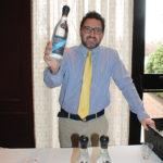 Steve Shaw, Owner, SDS Enterprises with Kanon Organic Vodka.