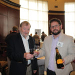 Charles Saunders, Le Grand Maitre, Chateau Montclair, Les Chevaliers Du Grand Vin and Chuck Saunders, Director of Sales Northeast, Biagio Cru Wines and Spirits.