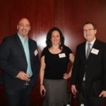 Ryan Davis, Vice President Sales Eastern US, O'Neill Vintners and Distillers; Maureen Monteiro and Jim Hayes, both sales, Oceanstate Wine and Spirits.