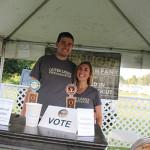 Matt Ferrucci and Christina Ferrucci of Outer Light Brewing Co. in Groton.