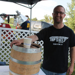Jesse Odell of Top Shelf Brewing in Manchester.