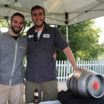 Sean Juliano and Gordon Whelpley of Stony Creek Brewery in Branford.