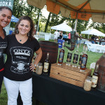 Eryka Wright, Production Manager with Debbie Coggshall, Tasting Room Manager of Onyx Moonshine helped to organize the event.