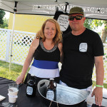 Linda and Scott King of Powder Hollow Brewing in Enfield.