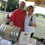 Scott and Michele Vallely of Charter Oak Brewing Co.