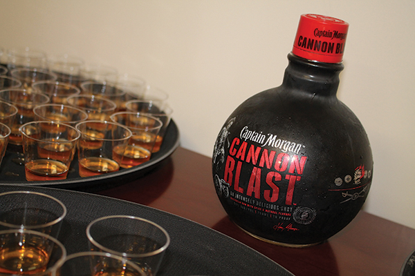 Hartley & Parker, Diageo Launch Cannon Blast, Award Sales Rep