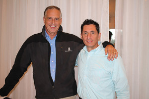 Todd Kelley, New England Division Manager, Bronco Wine Company and Steve Intonti, Massachusetts and Rhode Island Account Manager, Bronco Wine.