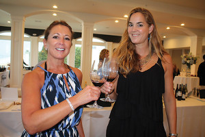 Carol Francolini, Regional Sales Manager and Ashley Bartlett, Promotions of C. Mondavi and Family.