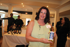 Deborah Daniels, CSW and Tasting Room Events Manager at Carolyn's Sakonnet Vineyard.