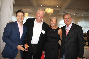 All of RIDC except where indicated: Damien Correia, Vice President Northeast Division, Vintage Point; Tom Becker, General Manager of Corporate Fine Wines; Rita Martin, Marketing Manager; Rick Proctor, New England Regional Manager, Vintage Point.