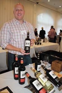 James Anci, Northeast Regional Sales Manager, Round Pond Vineyard.