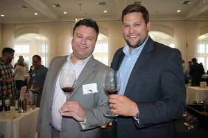 Ken Pearlman, Still Wines Brand Ambassador, Pernod Ricard with Matt Browne, Trade Development Representative, Pernod Ricard.