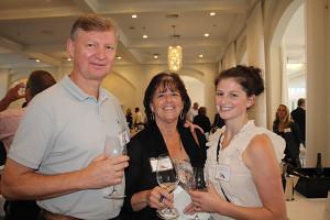 Steve, Lisa and Katlyn Gerrish, Employees, Dick's World of Wine.