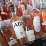 Hecht & Bannier Cotes de Provence, Maison Saint Aix Provence and Gerard Bertrand wines on display.