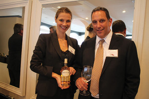 Kathleen Danahey, Rhode Island State Manager, Diageo with Howard Gantz, General Manager, RIDC.
