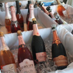 Sparkling wine selections included Louis De Grenelle Corial Brut Rosé, Gruet Brut Rosé, Scharffenberger Brut Rosé, and Roederer Estate Brut Rosé.