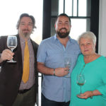 Marc Guillotte, Off-Premise Wine Craft Spirit Specialist, MS Walker; Craig Penardo, Owner, Main Street Wine and Spirits; Andrea Penardo, Owner, Main Street Wine and Spirits.
