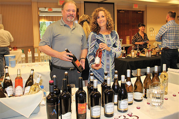 Slocum & Sons' Andy Brennah and Maureen Pesticci.