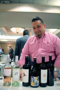 Paul Costilla, Northeast Regional Sales Manager, Tuck Beckstoffer Wines.