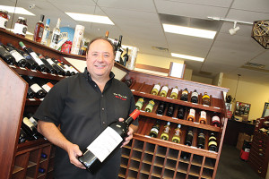 Owner Nelson Veiga of The Good Life Wine and Spirits