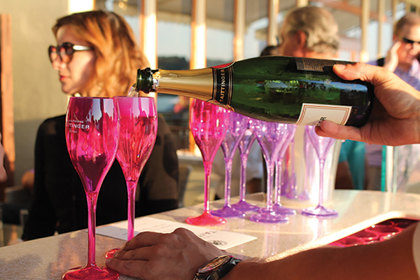"Kobrand Hosts ""Taittinger Time"" at L'escale"