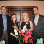 All from Connecticut Distributors, Inc. showcasing RumHaven Coconut: Mark Schnee, Sales Representative; Callie Bak, Account Development Specialist; Nadine Gengras, Portfolio and Account Development Manager; David Unnever, Sales Representative.