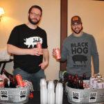 Black Hog Brewing Co.'s Dorian Patrick and Justin Benvenuto.