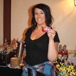 Nikki Simches, Bar Manager, Cure Restaurant. Simches won the cocktail competition with her creation, The Beet Sweats!, named as crowd favorite.