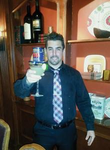 Jason Perryville, Bartender, Carbone's Ristorante.