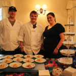 All of Apricots Restaurant: Marcus Luna, Executive Chef; Jeremy Lehner, Sous Chef; and Stacey McManus.