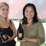 Pauline D'Haenens, Brand Ambassador, Fantinel with Haruka Black, Japanese Sales Specialist, Domaine Select Wines and Spirits.