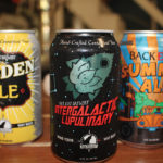 A selection of beers from Back East Brewing Company.