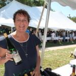 Susan Eisenhart, Sales Representative, Dr. Konstantin Frank wines.