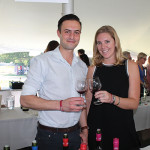 Marthinus and Victoria Van Der Vyver of Ken Forrester Vineyards of South Africa.