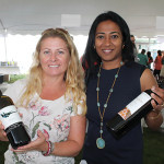 Jennifer Crowley, New England Estate Region Manager, Terlato Wines; and Seema Parthasarathy, Fine Wine Development Manager East, Terlato Wines.