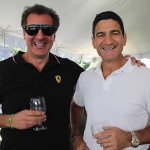 Retailer John SantaCroce with Gene Sepe, CEO and President of Brescome Barton.