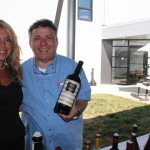 Donna Taylor of Vine Ventures with Antonello Cozzula, Italian Fine Wine Manager East Coast, Palm Bay International Fine Wines and Spirits.