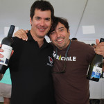 Julio Bouchon Lyon, Executive Director, Bouchon Family Wines with Matias Garces Silva, Executive Director of Garces Silva Family Vineyards.